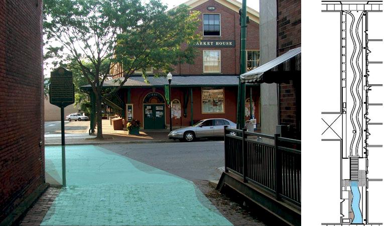 Designing Market Alley